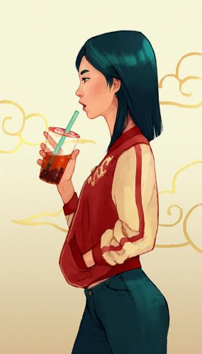 Mulan (from Ralph Breaks the Internet)